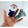 หุ่นนิ้วมือ ชุด นิทานอีสป (มีให้เลือก 12 เรื่อง)