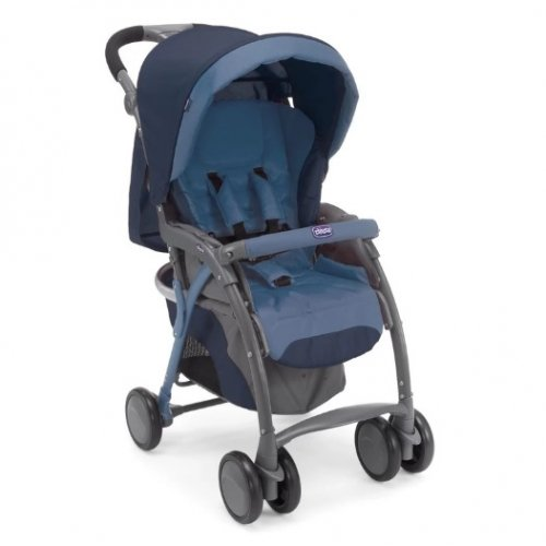 Chicco รถเข็นเด็ก Chicco Simplicity Stroller Plus-Blue Passion