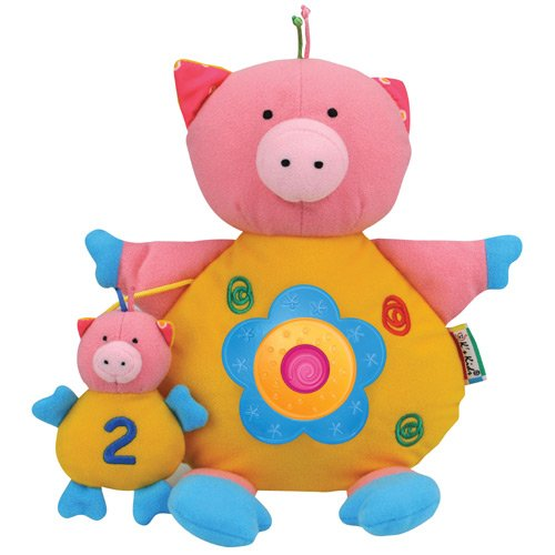 K's kids Baby Lovers (Light and Sound) Activity Toys, ลาย: หมู