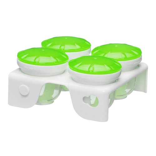 Munchkin Fresh Food Freezer Cups, สี: เขียว