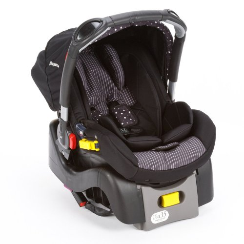 The First Years I470 Eleganca Car Seat, สี: ดำ