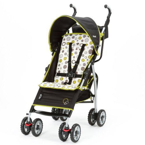The First Years S130 lanlte Stroller - Abstract O's Black & Green