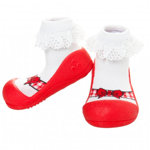 Attipas รองเท้า Attipas Ballet Red