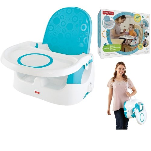 Fisherprice Deluxe Quick-Clean Portable Booster