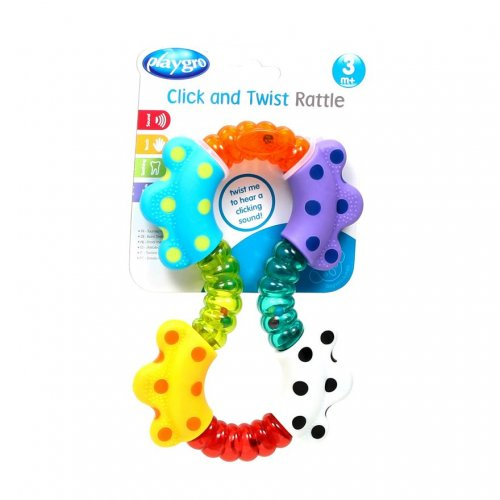 Playgro Playgro Click and Twist Rattle