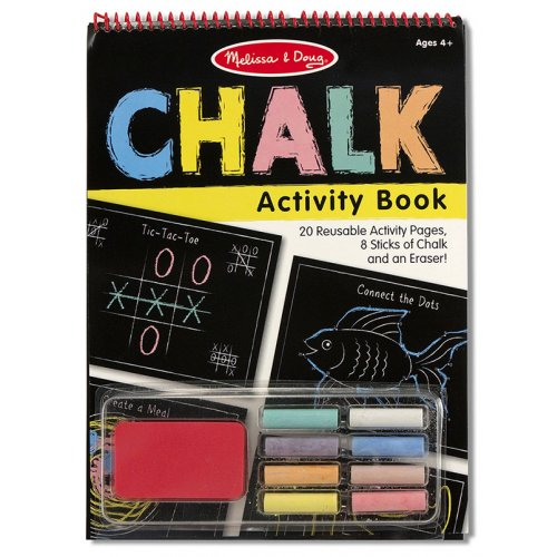 Melissa and Doug Reusable Chalk Activity Book
